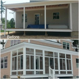 Before_after_sunroom_addition_rochester_ma