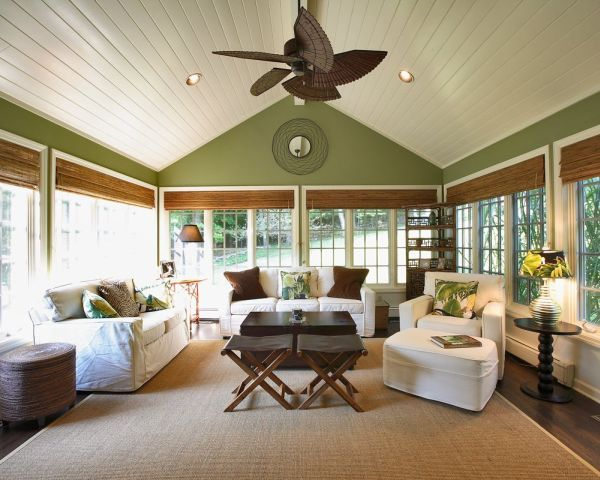 Sunroom Window Treatment Ideas
