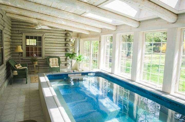 Sunroom home gym ideas care free sunrooms for Swimming pool room ideas
