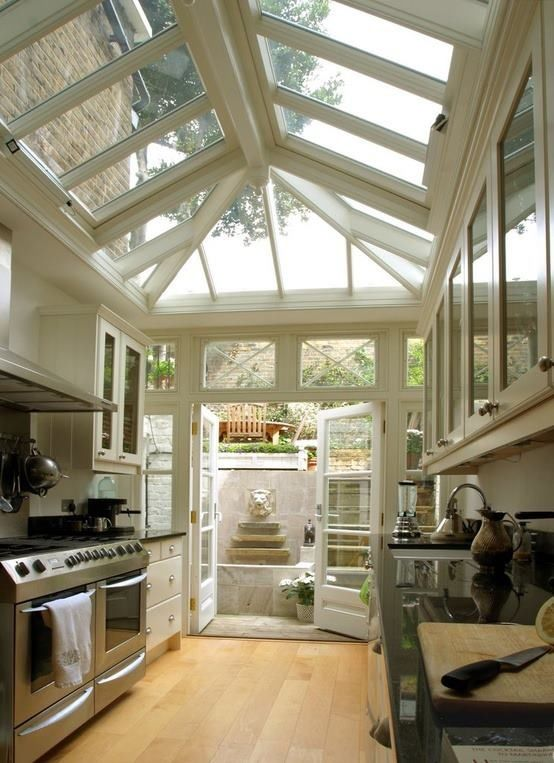 conservatory kitchen ideas care free sunrooms. Black Bedroom Furniture Sets. Home Design Ideas
