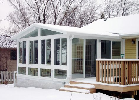 Sunrooms To Beat The Winter Blues Care Free Sunrooms