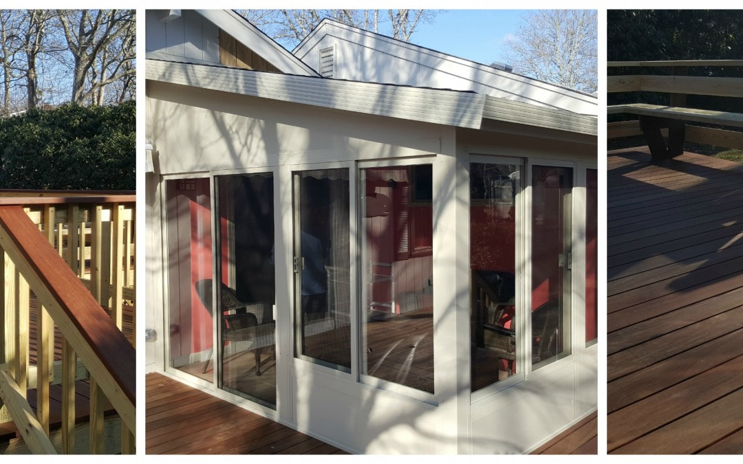 Sunroom Addition in East Falmouth, MA