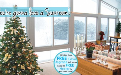 Winter Upgrades on Sunrooms!